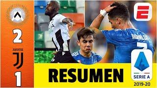 Udinese ARRUINA la fiesta a la Juventus de Cristano Ronaldo | Udinese vs Juventus | RESUMEN Serie A