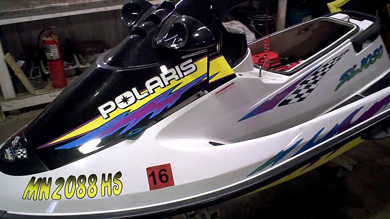 Polaris Jet Ski >> LOT 2428A 1997 Polaris SL 1050 Tear Down in Parts - YouTube