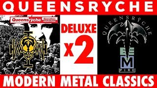 """DOUBLE DELUXE! Queensryche """"Operation Mindcrime"""" and """"Empire"""" Expanded & Remastered!"""