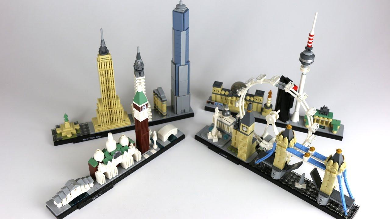 Lego Architecture Skylines Im Vergleich London 21034 21026 21027