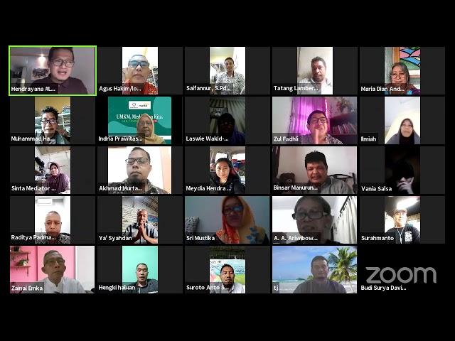 LPDS Virtual Class #22: UMKM, Media, dan Kita