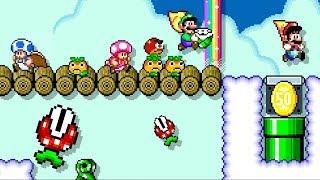 Super Mario Maker 2 - Online Multiplayer Co-op #28