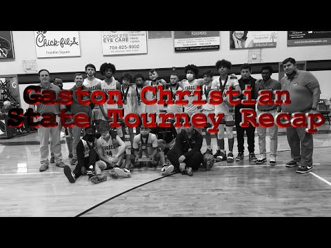 Gaston Christian School State Tournament Recap and Gameday Footage vs Asheville Christian