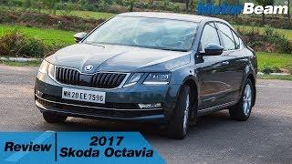 2017 Skoda Octavia Review - Best D-Segment Sedan? | MotorBeam
