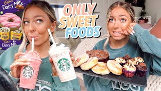 I ONLY ate SWEET FOODS For 24 Hours!!