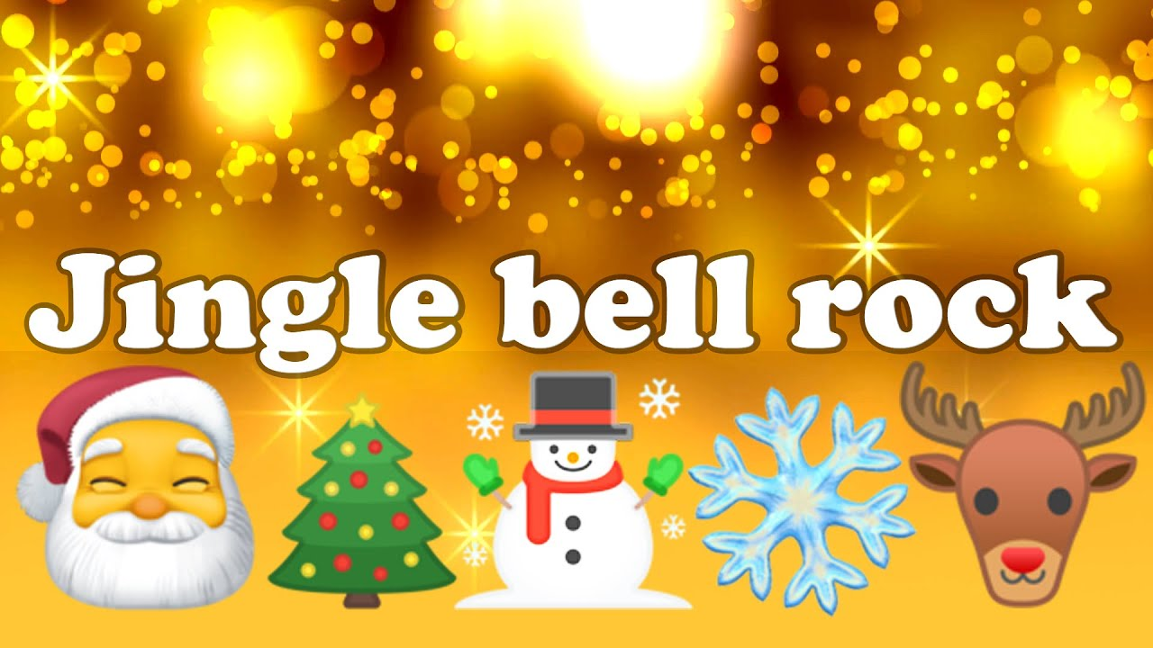 Jingle bell rock (LYRICS) - Christmas song 🎄🎅🦌 ️☃️🔔🕯️ - YouTube