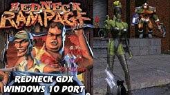 RedneckGDX (Redneck Rampage Windows 10 Port) - Route 66 E2M1-2 Walkthrough + Download Link!