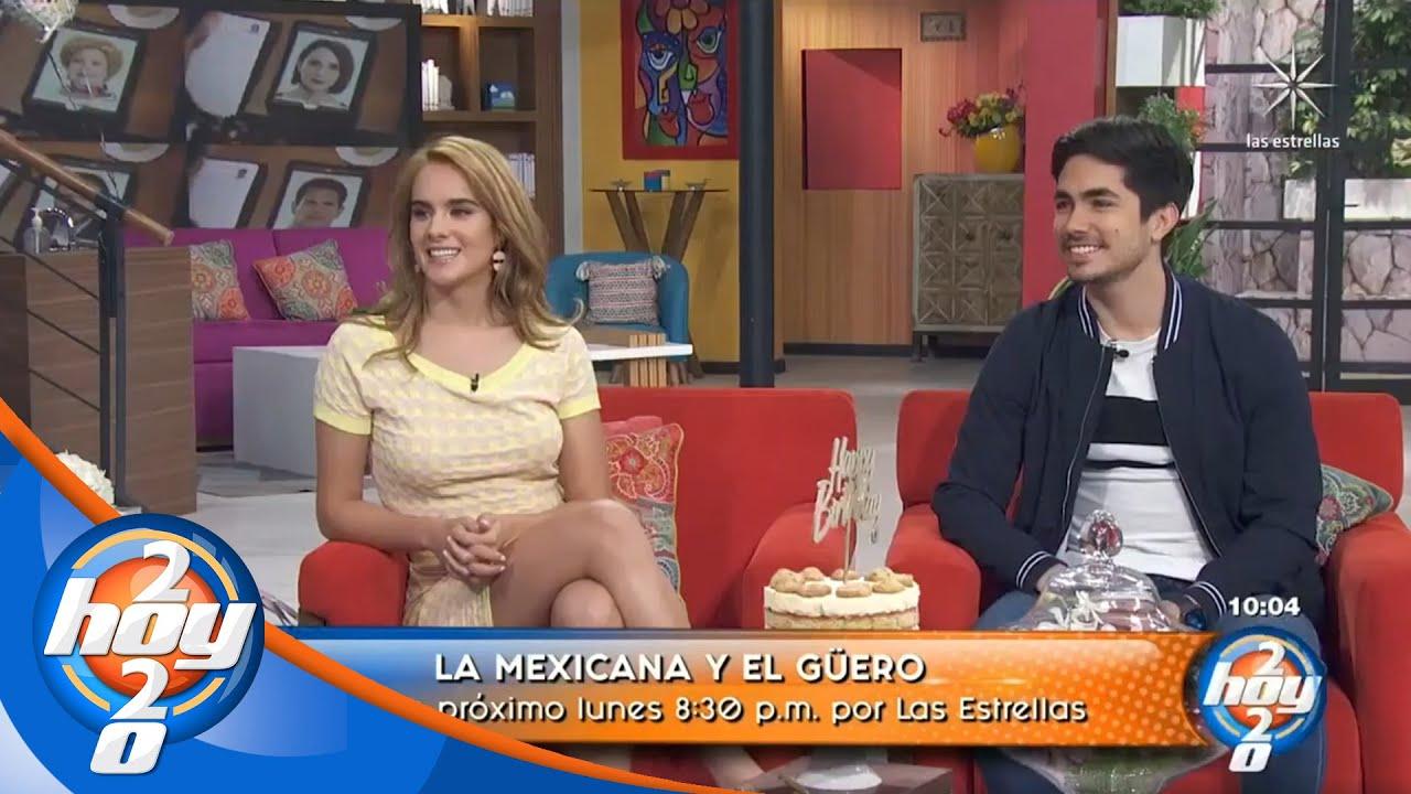 Gala Montes y Sian Chiong forman parte del elenco juvenil de #LaMexicanaYElGüero | Hoy
