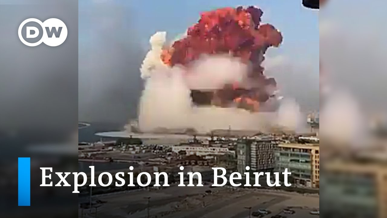 Download Massive explosion in Beirut | DW News