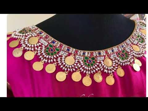 Gorgeous Kasu Embellished Work Designs