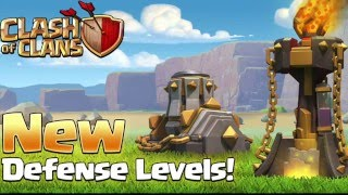 Clash Of Clans SNEAK PEEK 1 Inferno and Mortars get a Buff cool new look