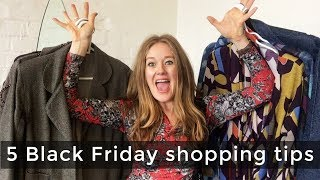 5 Black Friday shopping tips for women over 40 - fashion shopping tips that save you money