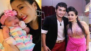 Sau thời gian ở ẩn, danh hài Kiều Oanh bất ngờ mừng đầy tháng con gái cưng thứ 2