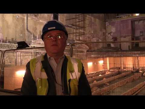 Inside The Hidden Victorian Theatre At Alexandra Palace