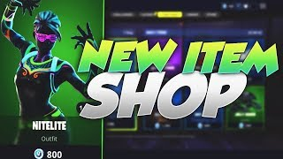 LITESHOW & NITELITE SKINS! Fortnite ITEM SHOP June 4th 2018! NEW Daily Items and Featured Items!