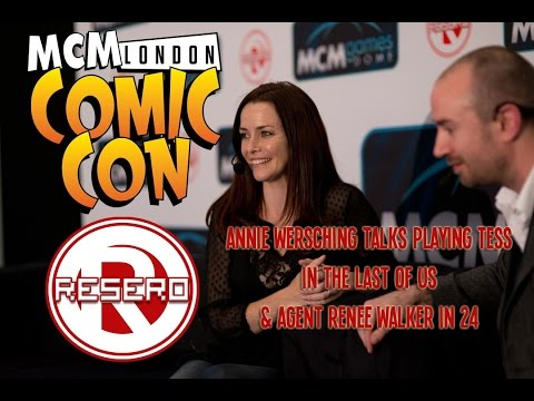 Resero Presents: Annie Wersching, The Last Of Us' Tess on the London Comic Con Games Stage