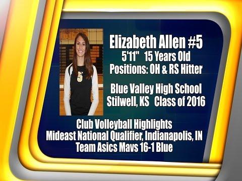 2014 Elizabeth Allen Mideast National Highlights