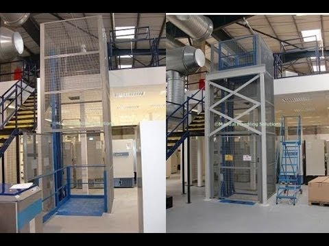 Mezzanine Floor Goods Lifts Peterborough Leicester