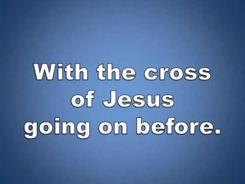 Onward Christian Soldiers w/ lyrics piano worship video