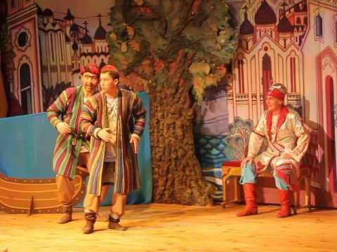 Сказка о царе Салтане. Театр Русская песня