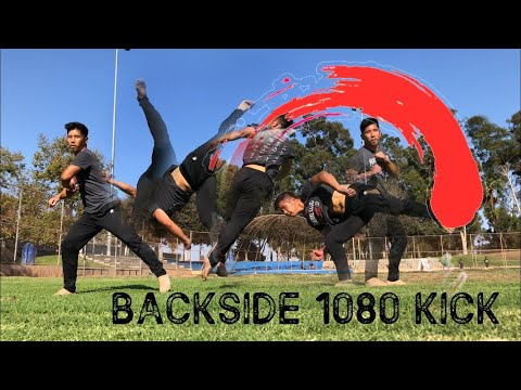 MARTIAL ARTS KICKING | BACKSIDE 1080 | TRICKING TUTORIAL