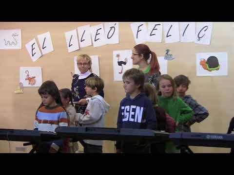 El Lleó Feliç a l'EMM de Premià de Mar, Escola Mar Nova Desembre 2017