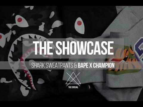 Shark Sweats, Bape x Champion, & Why Champion is Popular in Japan