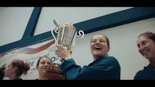 Финал Кубка России по водному поло 2017 среди женских команд в Ханты-Мансийске.