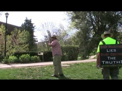 Roman Catholic vs. Campus Preacher - Kerrigan Skelly  (University of Kentucky)