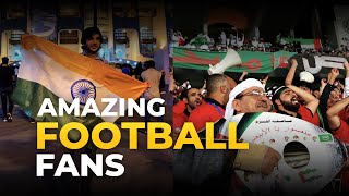 Football Journey - India vs UAE, Asian Cup 2019 - Amazing Football fans