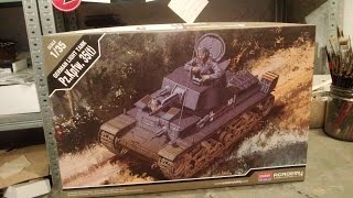 Kit review: Academy Panzer 35(t) in 1/35 scale