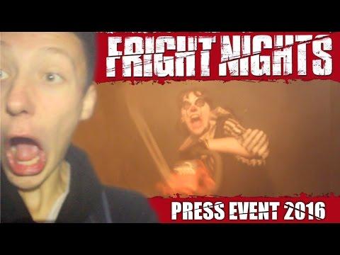 THORPE PARK FRIGHT NIGHTS PRESS EVENT | 2016 VLOG