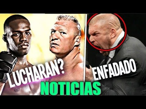 WWE Noticias: Triple H ENFADADO Con Mcmahon & Lesnar VS Jon Jones UFC