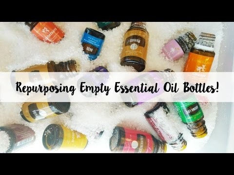 How to Reuse Your Empty Essential Oil Bottles