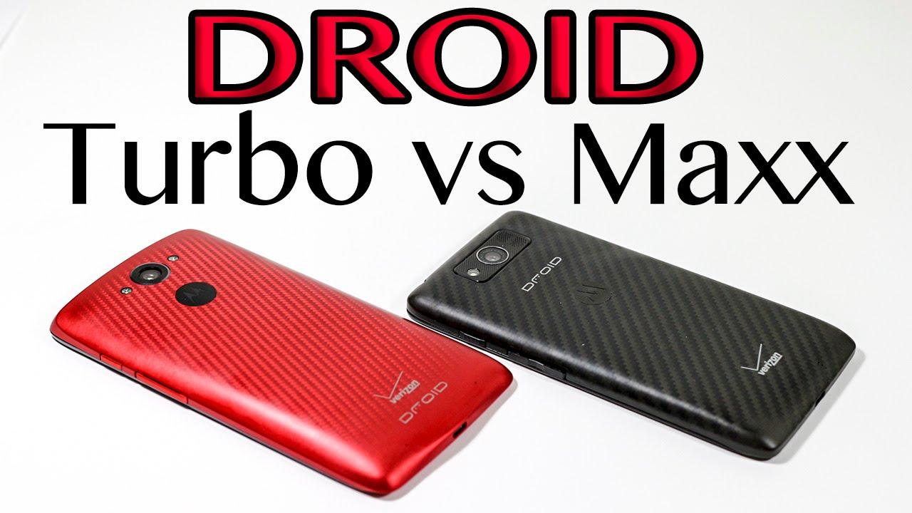 DROID Turbo vs DROID Maxx