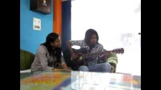 ore manwa tu to bawra covered by Anupurti & Prince
