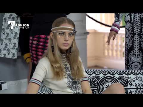 Holly Fulton London Fashion Week SpringSummer 2018 FashionTelevision