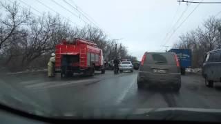Авария в Саранск   14.02.2015
