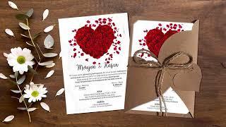 2019 düğün davetiyesi modelleri