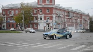 Barnaul. Autumn. Drift