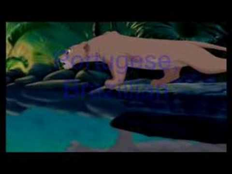 lion king can you feel the love tonight multilanguage