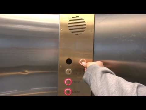 Glashissen fastna / I get stuck in the scenic elevator @ Cruiseferry M/S Silja Europa.