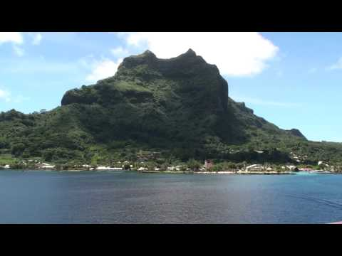 Bora Bora Up-Close - Relaxing Background Video