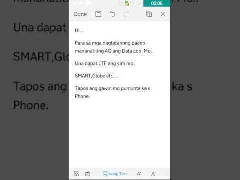 Paano gawing 4G ang Data Connection Ko?