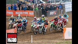 Searle v Simpson: Highlights of the Lyng British motocross championship