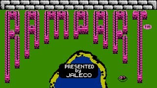 Rampart - NES Gameplay