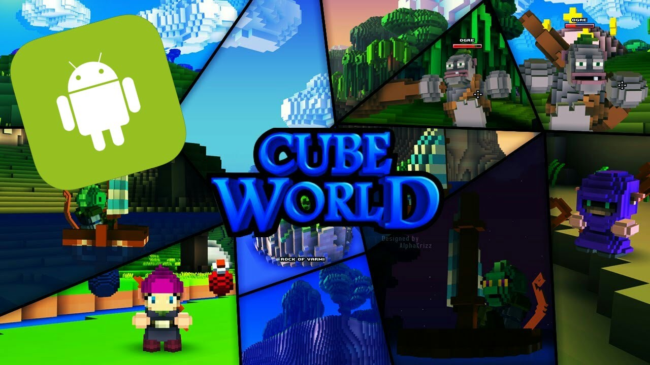 Descarga Impresionante Juego Igual A Cube World Para Android Apk You