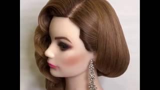 видео Красивая и оригинальная прическа с плетением