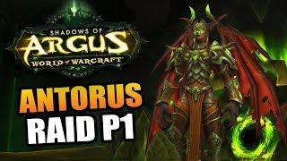 Antorus the Burning Throne - the final raid of Legion! // World of Warcraft