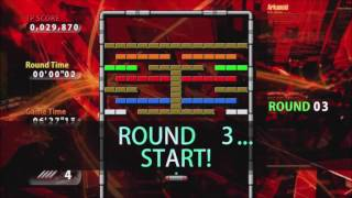 Gameplay of Arkanoid Live
